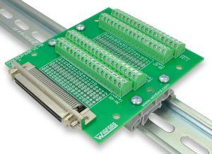 *USA*  National Instruments NI CB-68LP Connector Block Screw Terminal