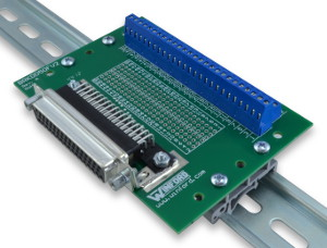 DB50 Breakout Board with Screw Terminals Winford Engineering