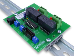 Relay Board: TTL Logic Level Inputs, 2 SPDT 15A Relays ... on