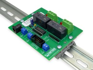 Relay Board: TTL Logic Level Inputs, 2 SPDT 15A Relays - Winford